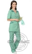 """Костюм """"ЖЕНЕВА"""" женский: куртка, брюки светлая мята с тёмно-зел."""
