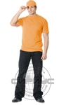 Футболка оранжевая плотность 180 г/кв.м., х/б-100 %