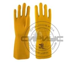 "Перчатки ""ЗЕФИР"" L-F-13 (латекс, уникальн. слой Sponge, толщ.0,68мм, дл.330мм) Manipula"