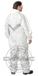 Комбинезон одноразовый Kleenguard А25 с эластичной вставкой, белый