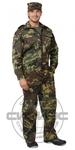 """Костюм """"ОХРАНА"""": куртка, брюки (тк. смесовая) КМФ зеленый"""