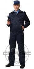 """Костюм """"АЛЬФА"""": куртка, бр (тк. смесовая) чёрный"""