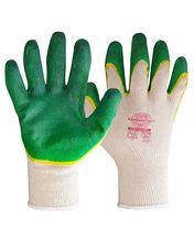 """Перчатки """"Дуолат"""" р. L,XL (хлопок+высококач. двойное латексное покрытие)"""