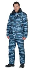 """Костюм """"СИРИУС-Безопасность"""" зимний: куртка,  п/комб. КМФ серый вихрь"""