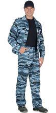 "Костюм ""Фрегат"" куртка,брюки (тк. Грета 210) КМФ Серый вихрь"