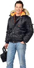 "Куртка ""СИРИУС-АЛЯСКА""  чёрн."