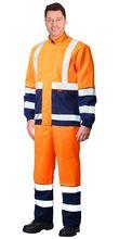 """Костюм """"ТЕРМИНАЛ-3"""":куртка,  п/к оранжевый с темно-синим"""
