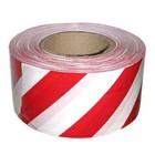 Лента оградительная, бело-красная 50 мм