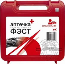 Аптечка автомобильная ФЭСТ Муссон, футляр пластик