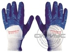 """Перчатки """"НИТРОЛАЙТ"""" (покр.частичн.нитрил., облегч., основа х/б,манжет резинка дл. 265 мм.) (пар) (х120)"""