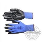 """Перчатки """"РифНит"""" (нейлон с черным нитрилом, рифленным покрытием, 13-й класс вязки)"""