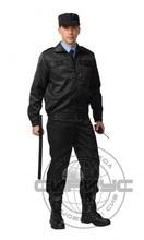 """Костюм """"ВЫМПЕЛ"""": куртка, брюки (тк. смесовая) черн"""