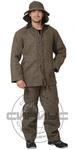 Костюм огнестойкий суконный: куртка, брюки серый ГОСТ
